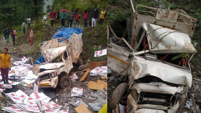 Death in a pickup accident on Choupal Khadar